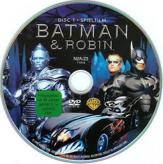 Batman and Robin DVD