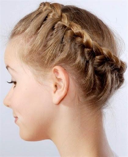 short hair bun models for women trends 2015