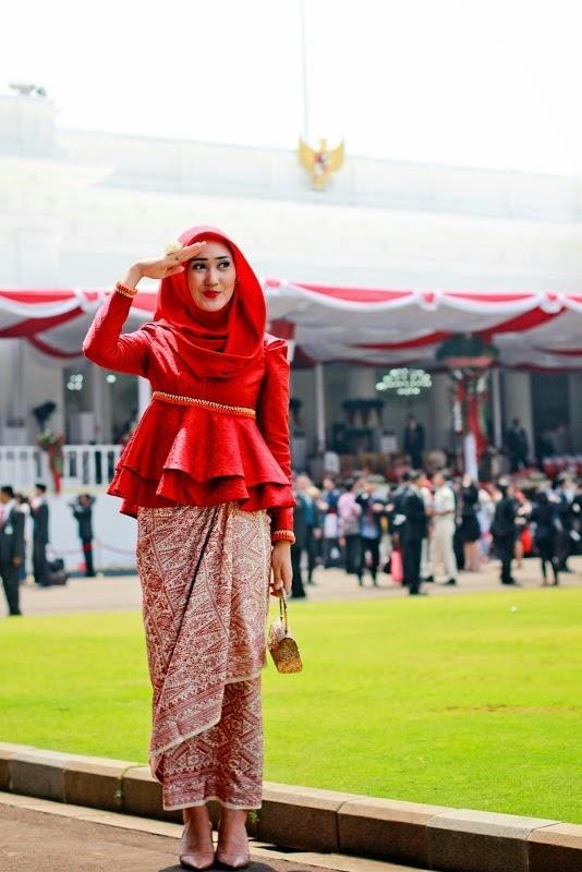 gaya hijaber dian pelangi hijab style