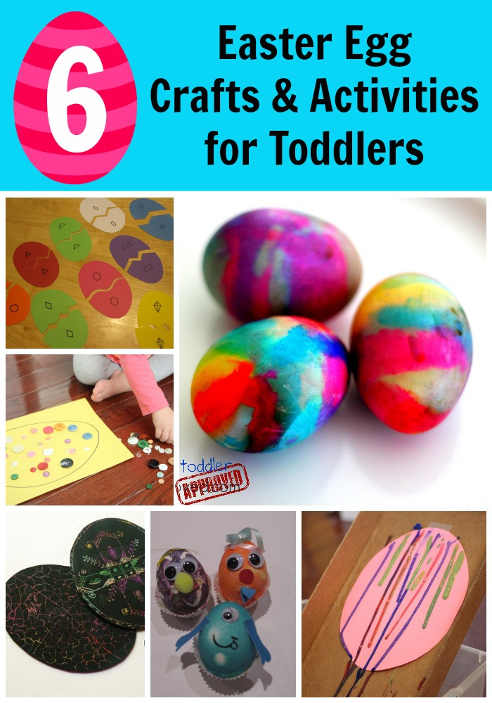 6 Easter Egg Crafts Activities For Toddlers