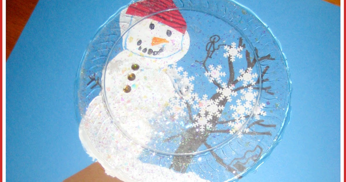 how to fix a plastic snow globe