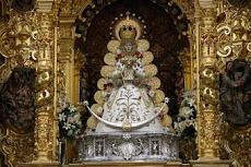Virgen del Rocío.Patrona de Almonte .