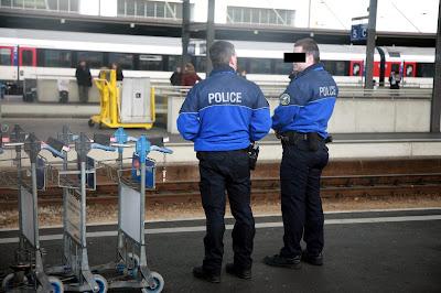 Foto da Policia da Suiça