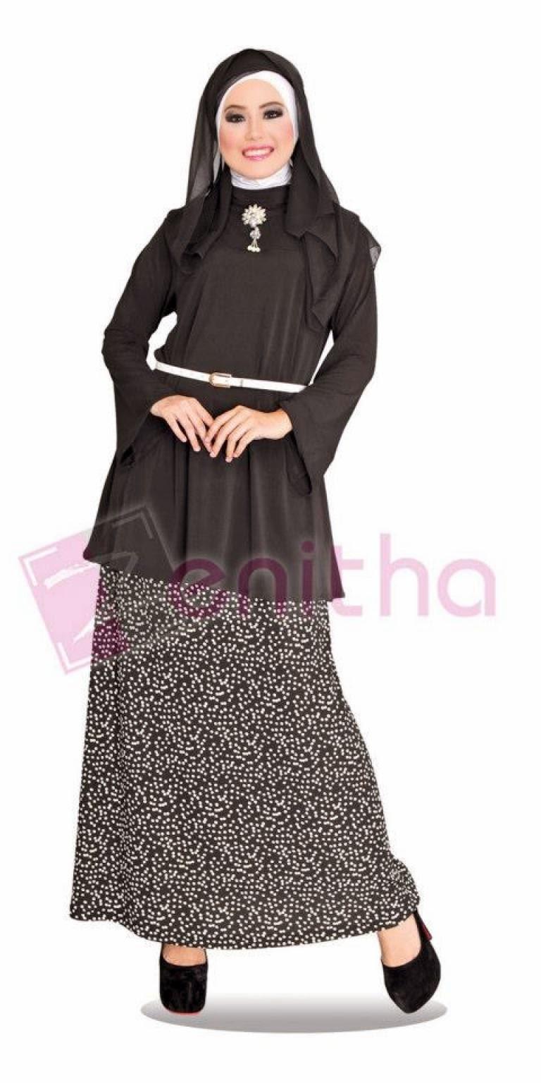 20 Contoh Model Baju Muslim Zenitha Terbaru