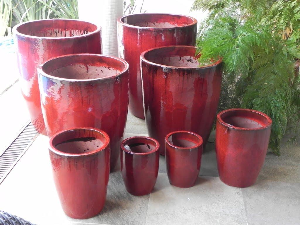 Plantas e decora o em jundia e regi o vasos vietna p1 for Vaso grande