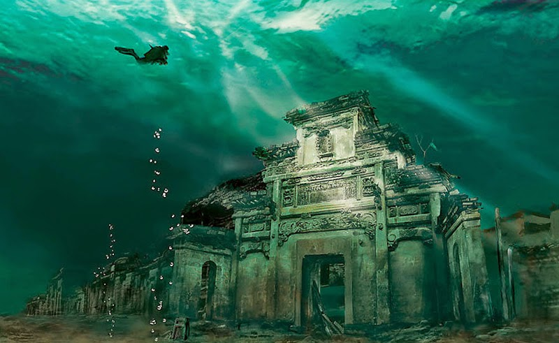 16. Underwater City, Shicheng, China - 31 Haunting Images Of Abandoned Places That Will Give You Goose Bumps