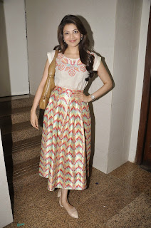 Actress Kajal Agarwal Latest Pictures at Felicitate Chidren NGO Alert India  10.JPG