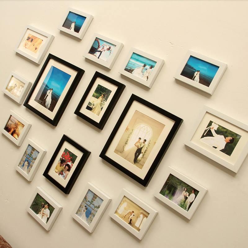 Trưng bày cho không gian bằng mẫu khung mỹ thuật tranh gỗ treo tường them nổi bật