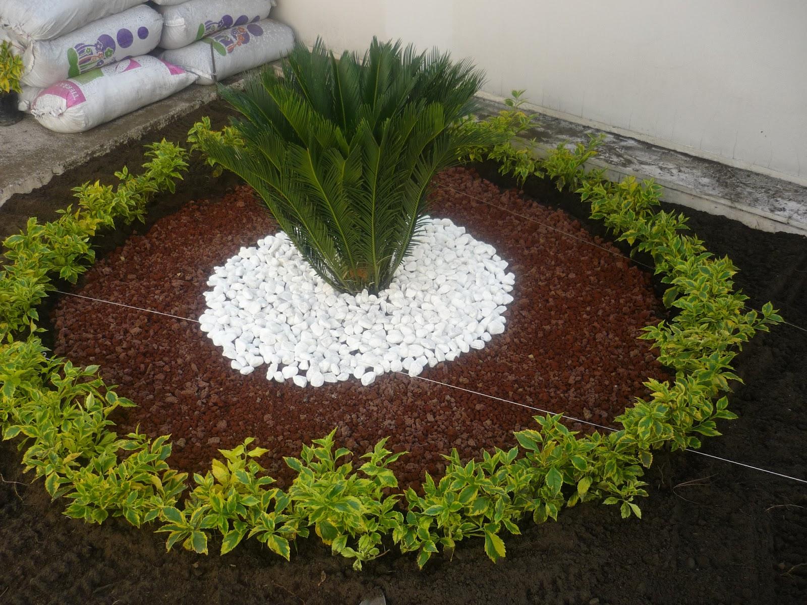 Jardines pueblos y huertos dise o de un jardin for Jardines hermosos para casas pequenas