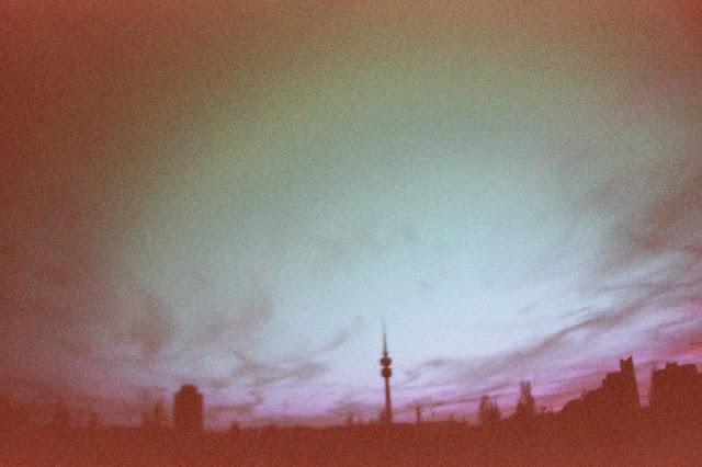 Lila Wolken über München | munique