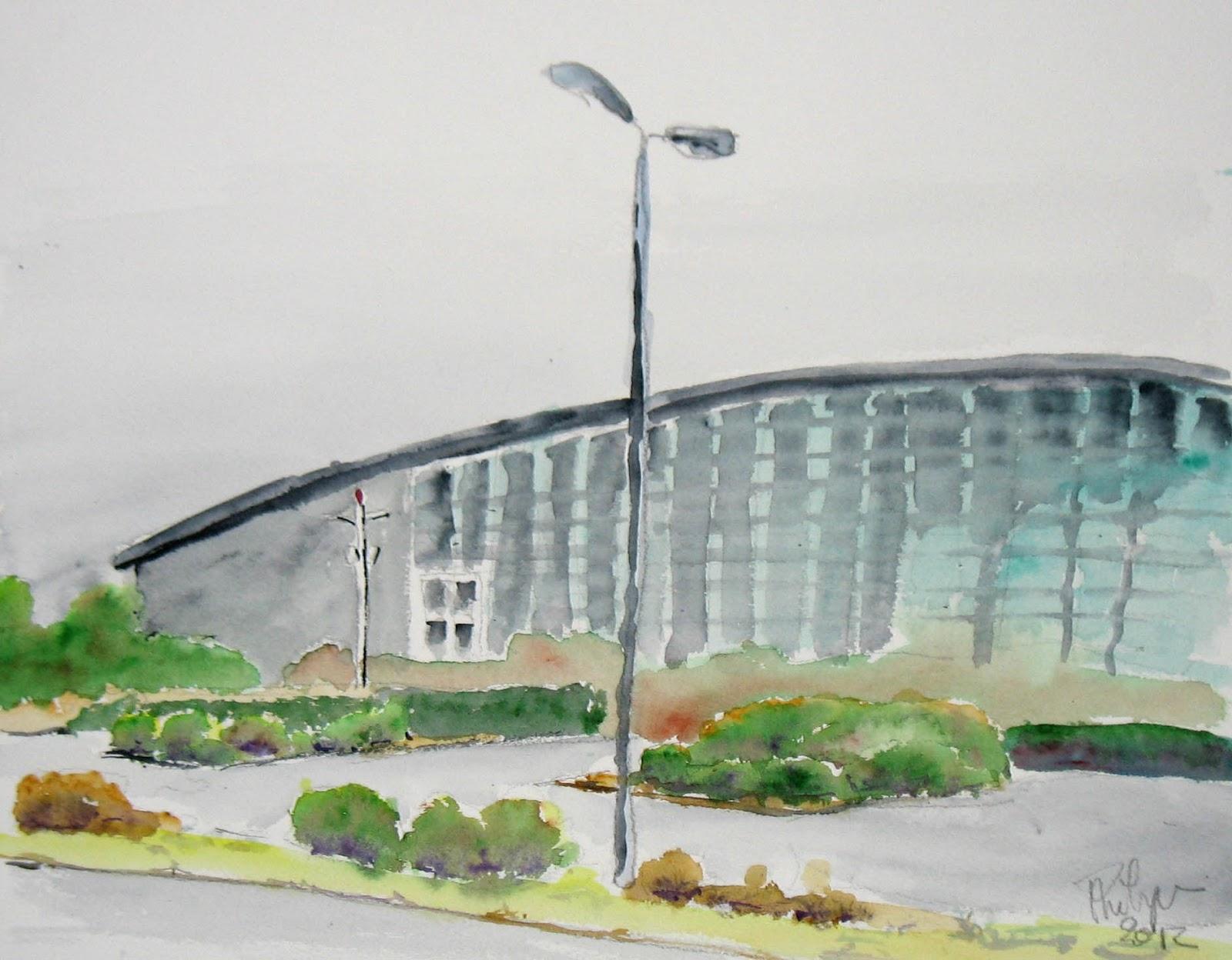 Le blog de michel randonn e du lundi 12 mars 2012 for Piscine querqueville