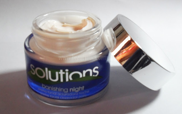 Creme Clareador Solutions Banishing Night Avon