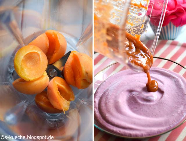 Mandel-Himbeer-Joghurt Smootie