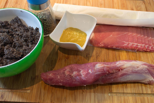 ingredientes Solomillo wellington
