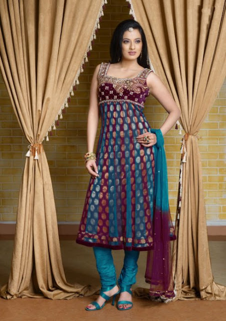 Fancy-Anarkali-Frock-Churidar