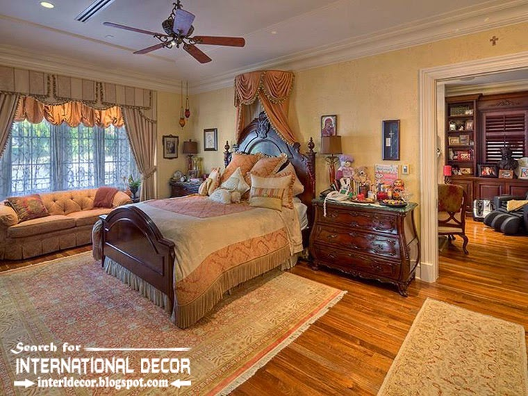 Mediterranean Palace In Florida American Palace Colonial Style Luxury Classic Bedroom