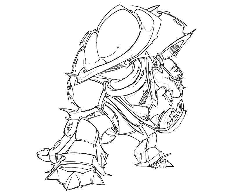 Armadillo Coloring Pages
