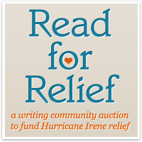 Read for Relief badge and link.