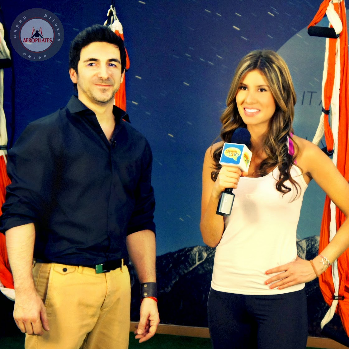 RAFAEL MARTINEZ: AERIAL YOGA TV PRESS HEALTH BEAUTY WELLNESS, AEROYOGA
