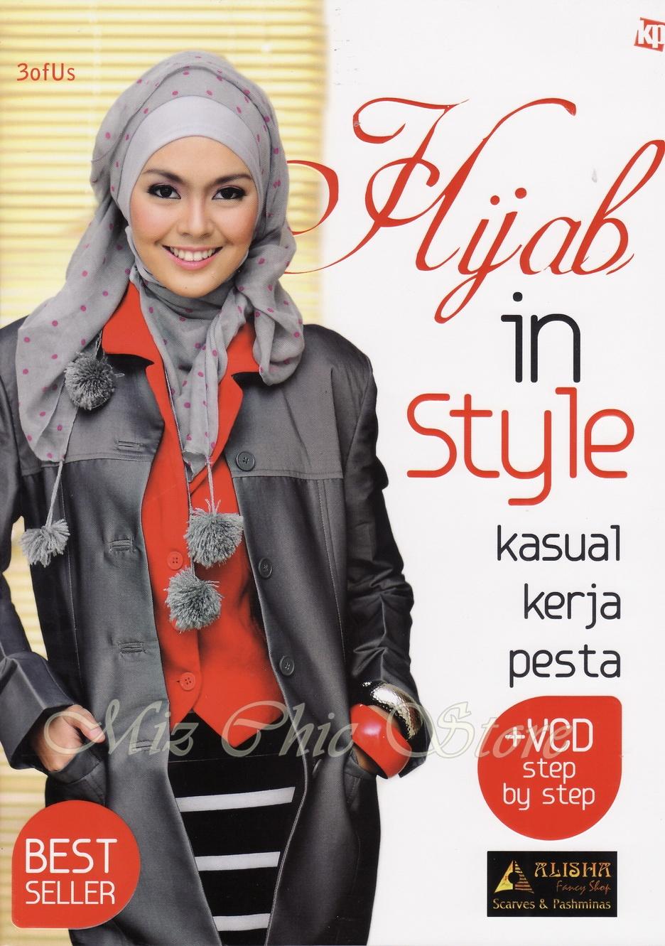 Mizchic Tutorial Hijab Book NEW