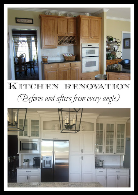 Kitchen Renovation - Befores and Afters from every angle - Calypso in the Country Blog