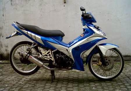 modifikasi jupiter MX sederhana