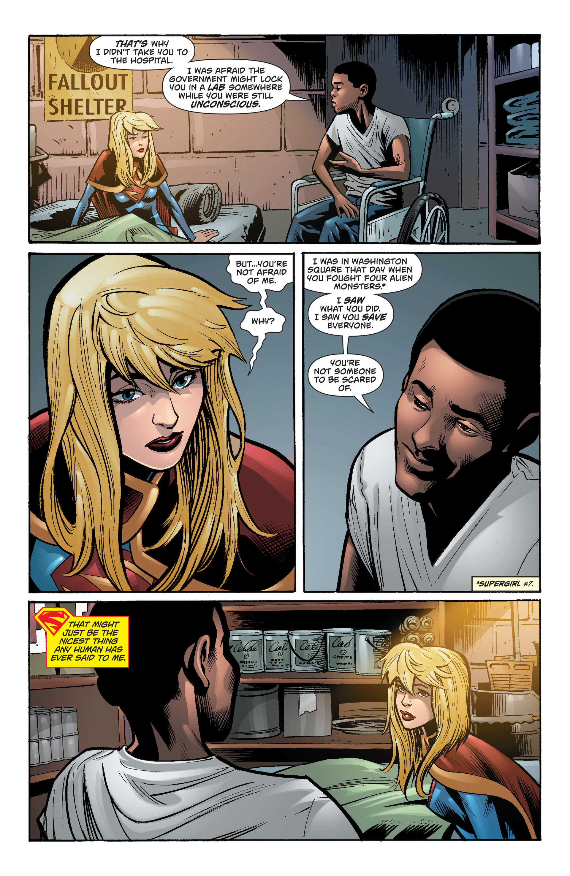 Supergirl (2011) Issue #34 #36 - English 8