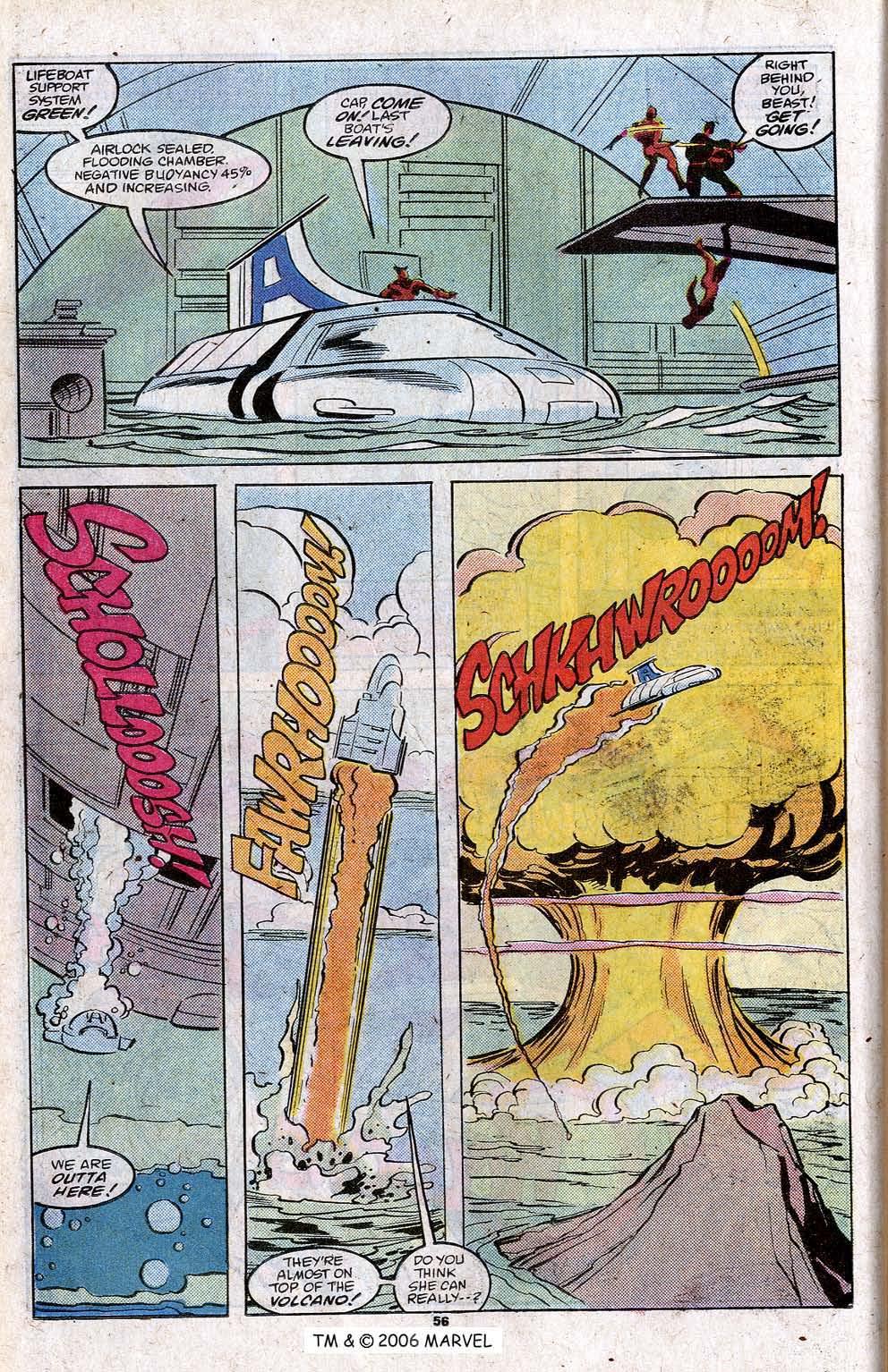 Captain America (1968) Issue #348c #280 - English 58
