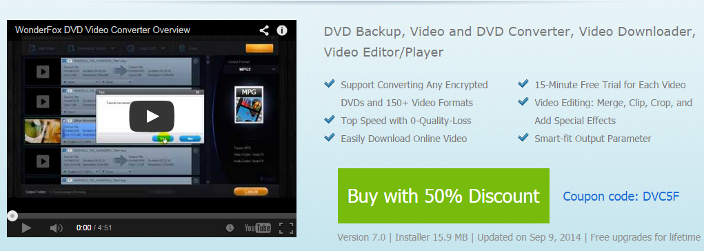 WonderFox DVD Video Converter promo code