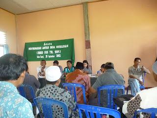 PNPM   MP SAKRA BARAT, MUSYAWARAH ANTAR DESA TAHUN ANGGARAN 2014