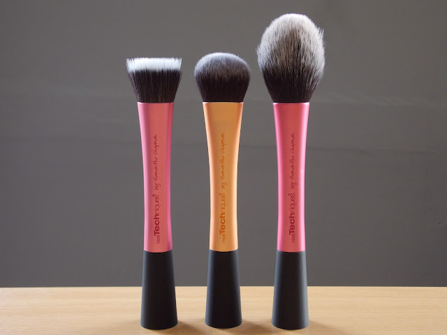 Real Techniques Stippling Brush, Real Techniques Expert Face Brush, Real Techniques Blush Brush