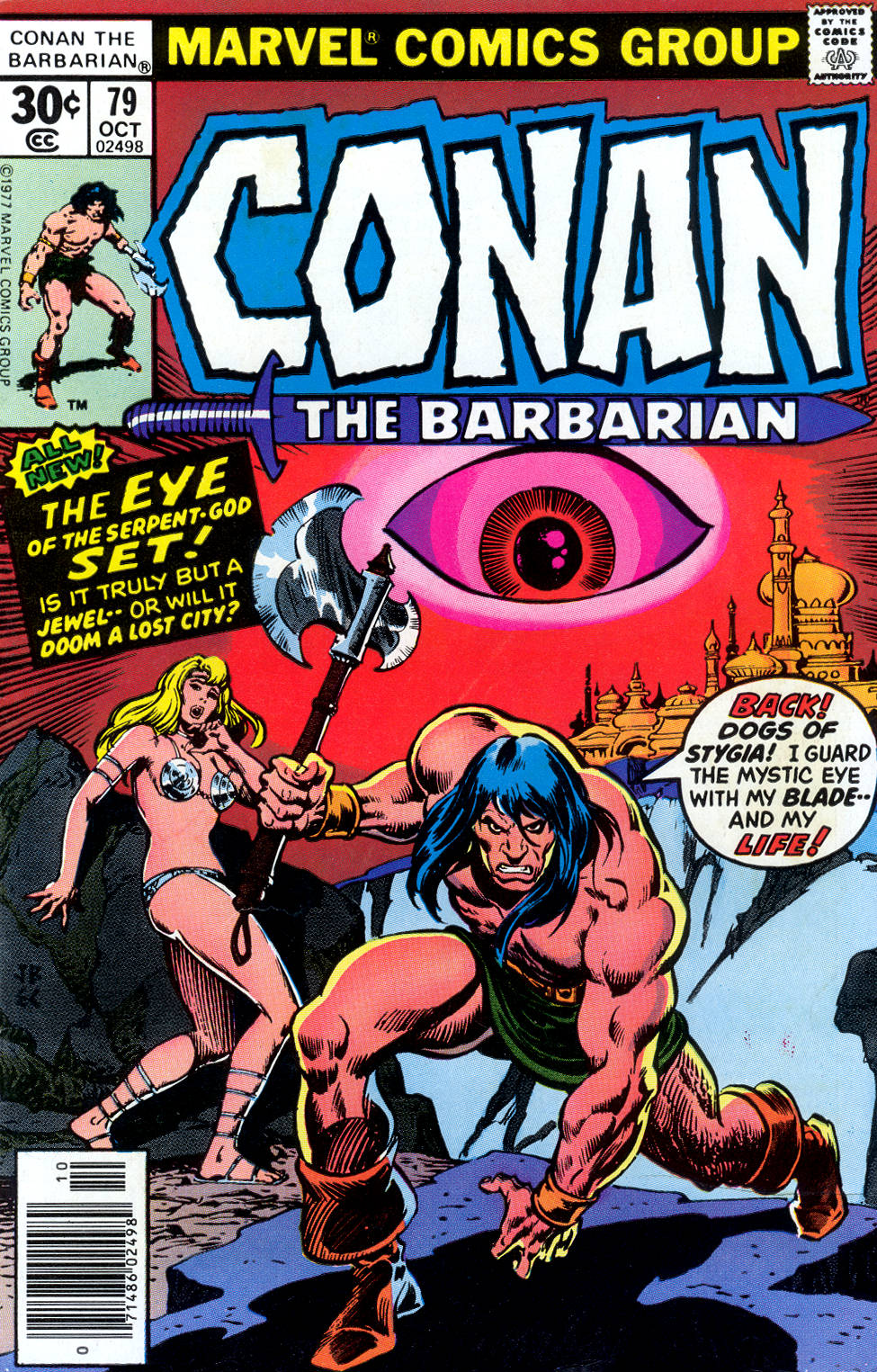 Conan the Barbarian (1970) Issue #79 #91 - English 1