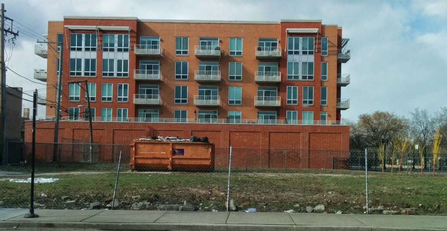 uptown update vacant lot at lawrence u0026 clark being cleared for