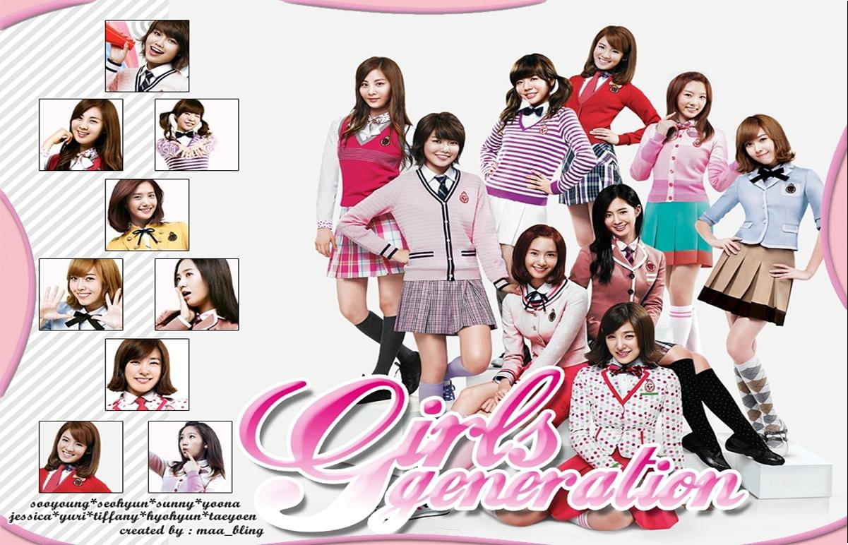 Foto Bening dan Wallpaper SNSD ( Girls' Generation ) Terbaru 2012