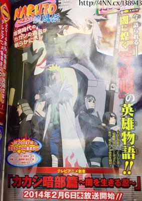 Anime Naruto Shippuden Spesial Kakashi Hatake Diumumkan Tayang Februari 2014