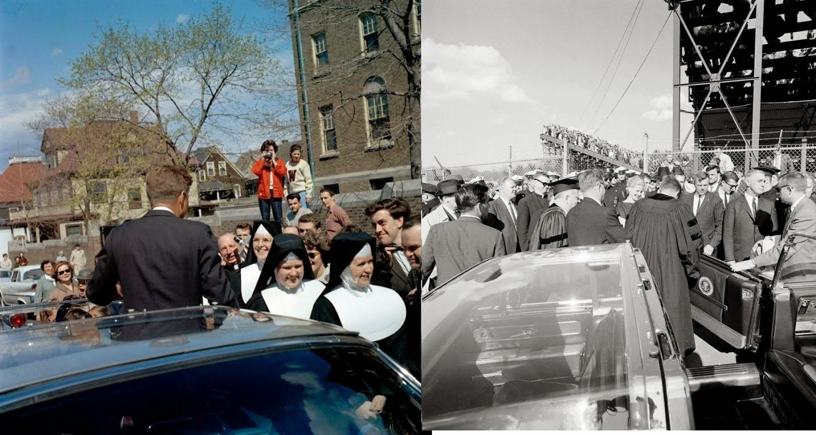 JFK bubbletop Boston, MA 4/20/63