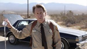 Jack Plotnick, sheriff, water, Rubber, movie, sedan, desert, indie