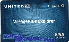 united airlines explorer credit card image source dr penny pincher - United Visa Credit Card