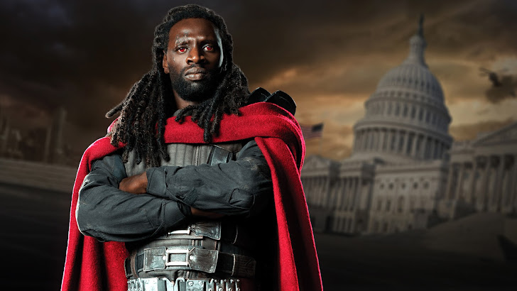 omar sy as bishop in x men days of future past 2014