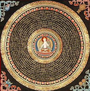 Mandala Tara Blanca