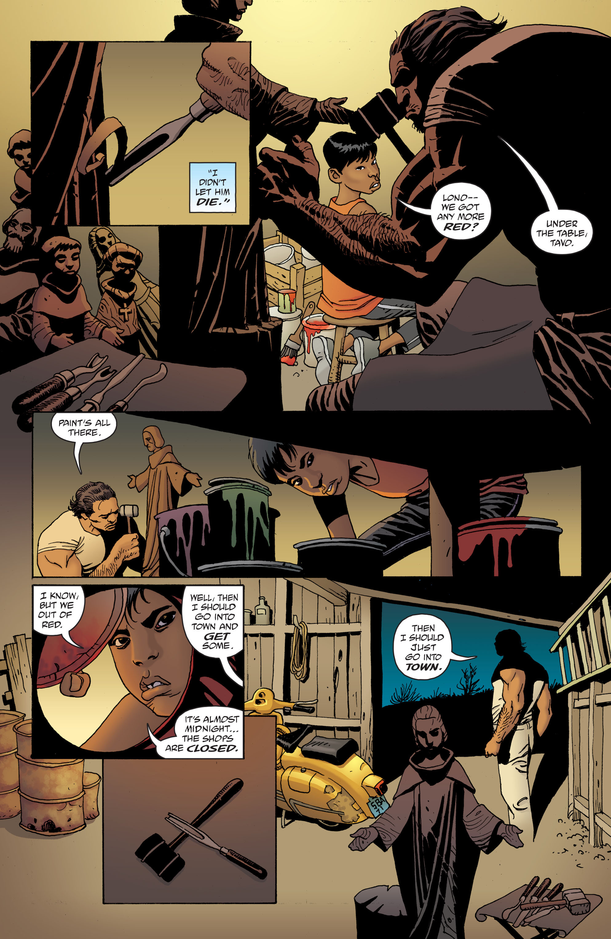 100 Bullets: Brother Lono Full Page 47