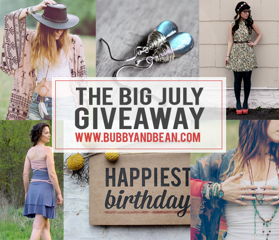 The Bubby and Bean Big July Giveaway // Win a $  240 Prize Package!
