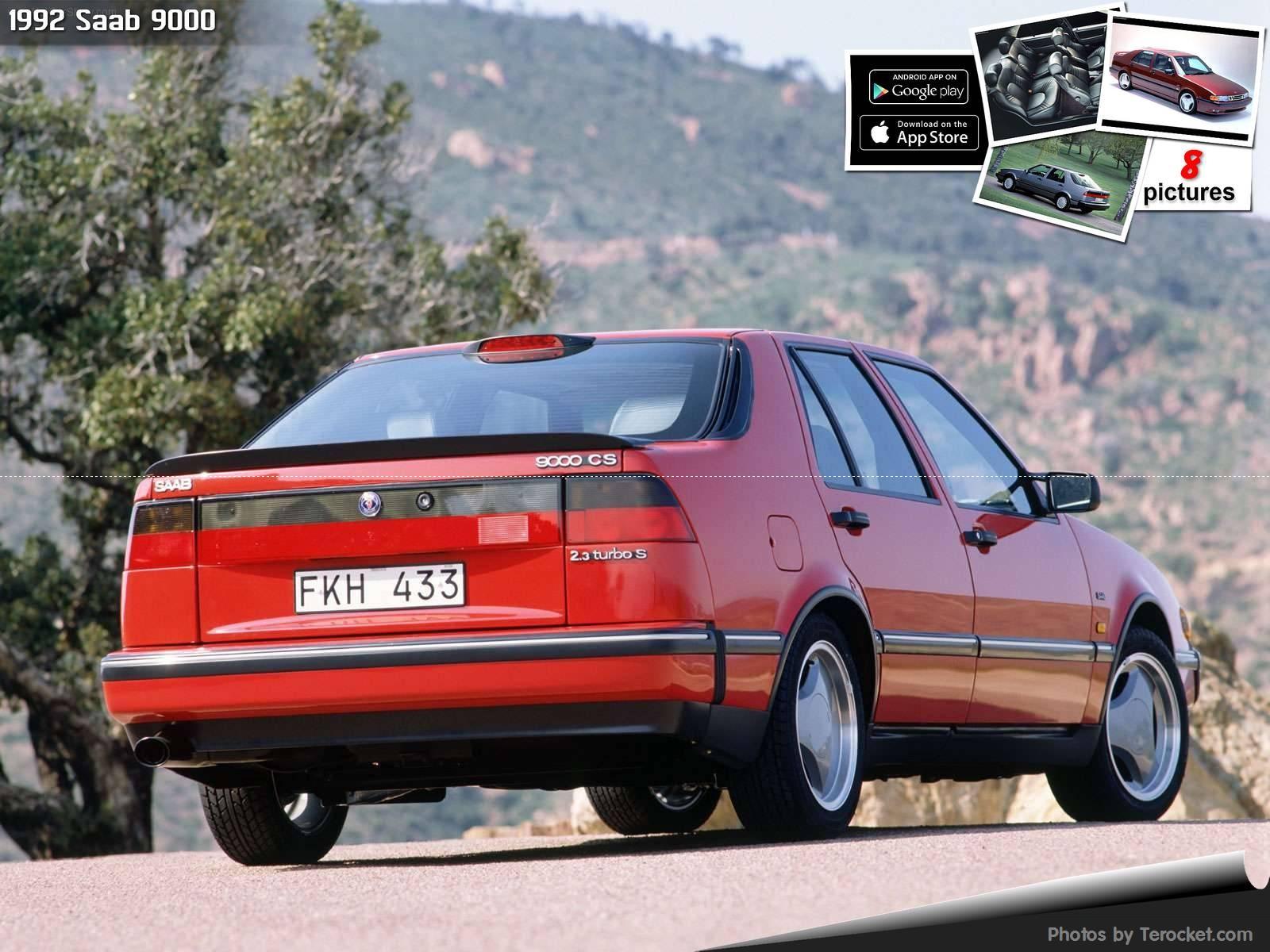 Hình ảnh xe ô tô Saab 9000 1992 & nội ngoại thất