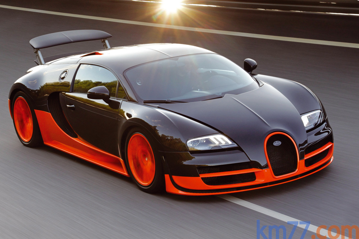 bugatti veyron 16 4 super sport sets land speed record at km h technology. Black Bedroom Furniture Sets. Home Design Ideas