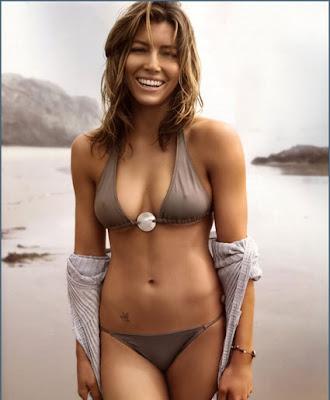 Jessica Biel Hot Bikini