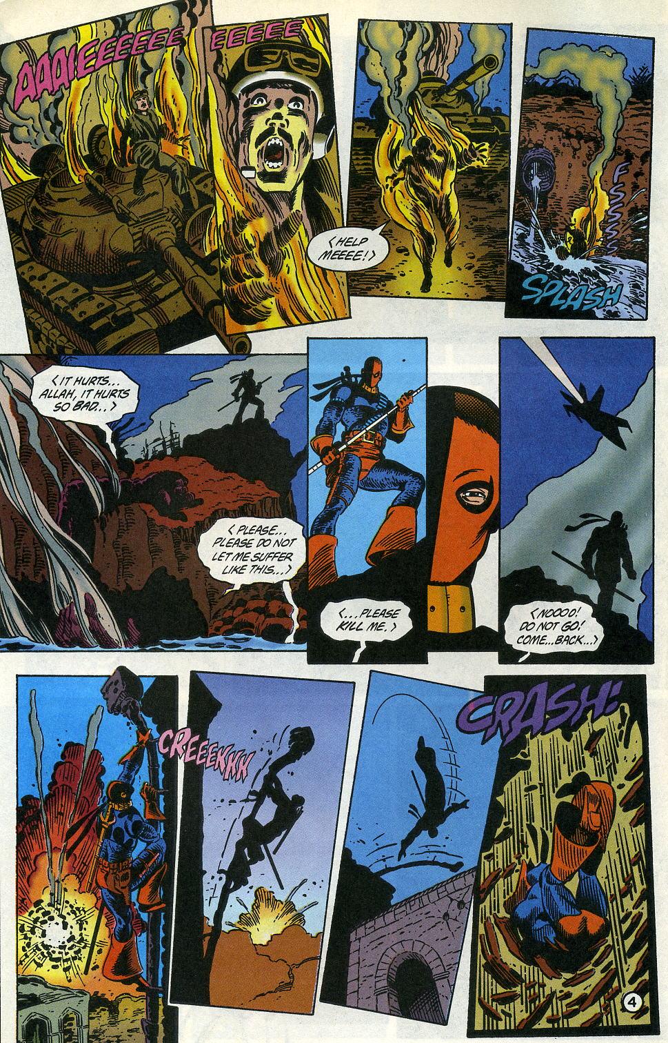 Deathstroke (1991) Issue #3 #8 - English 6