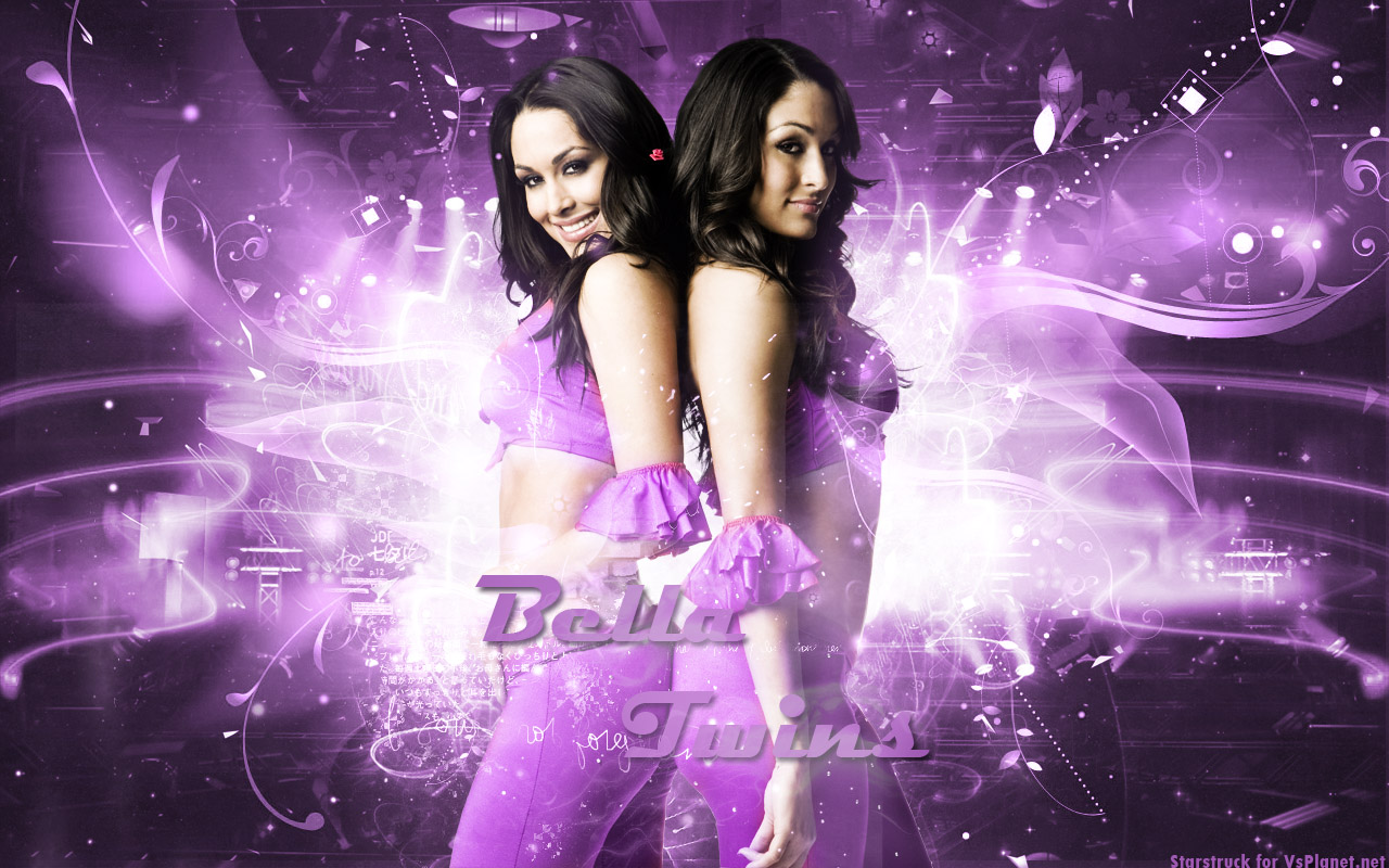 wwe wallpapers the bella twins bellas brie bella