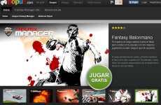 Red social de juegos online: Popuz