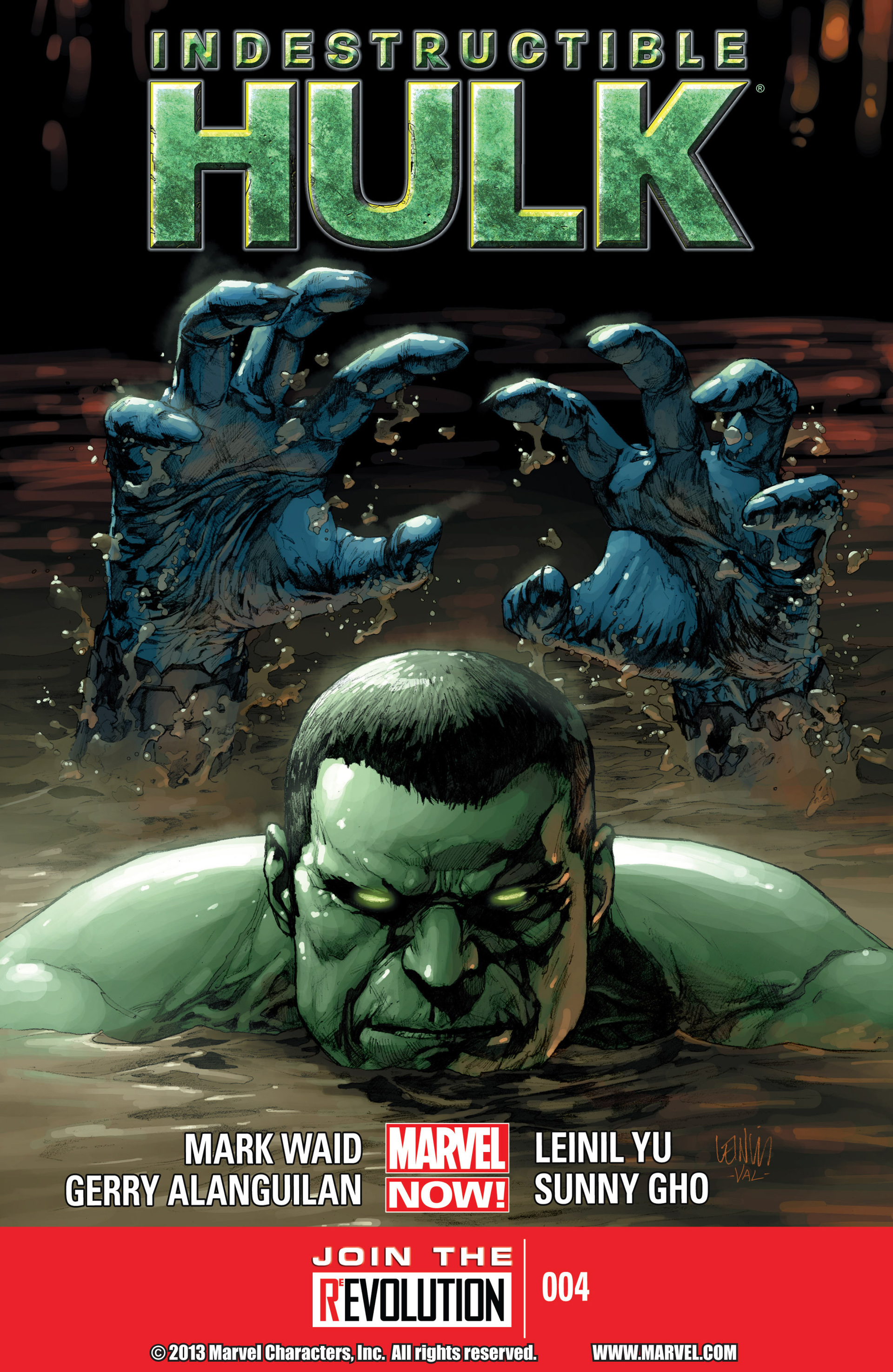Indestructible Hulk issue 4 - Page 1