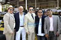 Cast of 'Gang of Ghosts' at Derby Day 2014